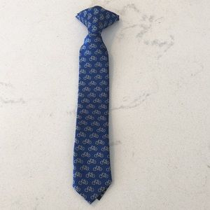 Other - Toddler Boys blue bike clip on tie